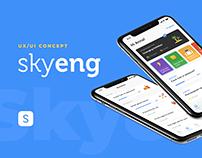 Skyeng new app concept
