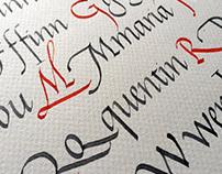 Italic Calligraphy Retreat