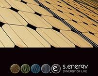 """Логотип. Фирменный стиль """"S.Energy"""""""