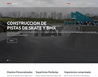 Flat Skate Parks website