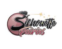 Logo Design. Silhouette Fairies.