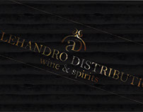 Logo for Alehandro Distribution
