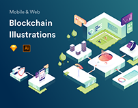 Blockchain Illustrations