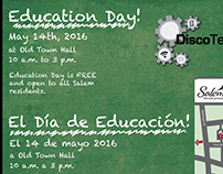 Education Day Flyers