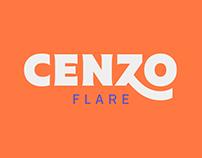 Cenzo Flare / Typography