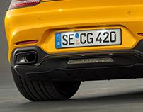 Mercedes-AMG GT S // CGI