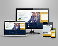Nortstone Finance - Business Website Design Wordpress-