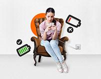 Xiaomi Powerbank   Print & Ambient ads