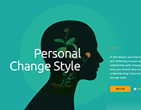Personal change style