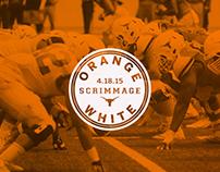 Orange White Scrimmage