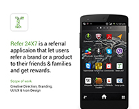 Refer 24X7 Application