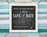 Save the Date | Wedding Stationary