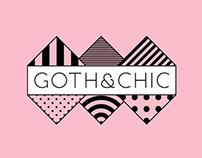 GOTH&CHIC Branding
