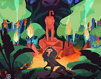 Baboon tribe poster