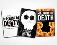 Machine of Death Book Cover Redesign