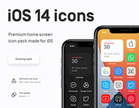 iOS 14 icons — home screen vector pack