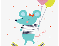Little Miss Mouse // Character Design // Kids Art
