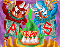 the monster draw