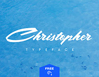 Christopher Free Calligraphic Typeface