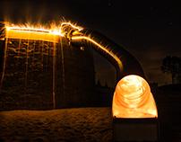 Lightpainting . playground