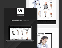 WOOLWORTHS | Online store concept