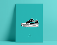 Air Max 1 Illustration Posters for Air Max Day