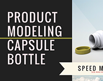 Capsule Bottle 3D Modeling