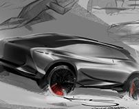 over-stylized lexus :)