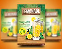 Lemonade Happy Hour Flyer