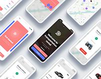 Transportation Rental app