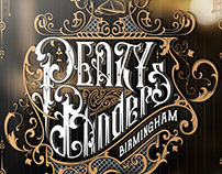 Peaky Blinders handlettered fan art