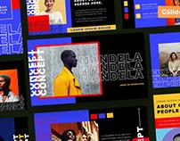 Mandela - Presentation Templates