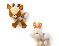 Simply Bright Starts Clutch & Hold Wood Toys