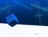 Website for the creative studio «Think up»