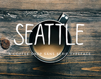 Seattle | Hand Lettered Sans Serif Font