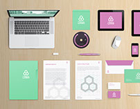 OFFICE BRANDING - FREE STATIONERY MOCKUP SCENE