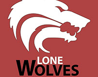 """LoneWolves"" E-Sports Team Logo"