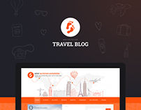 Web Design for a Travel blog