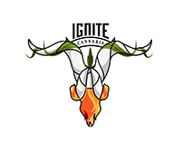 IGNITE Cannabis Company Logo Contest