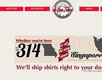 St. Louis T-Shirt Website