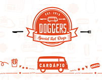 Cardápio & Cartaz Doggers