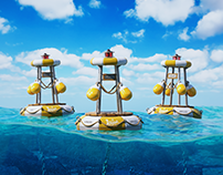 CGI Floating Buoys