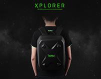 XIRO-无人机硬壳背包设计(个人原创设计)