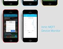 Ionic IOT dashboard