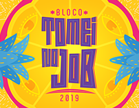 Bloco Tomei no Job | ID Visual