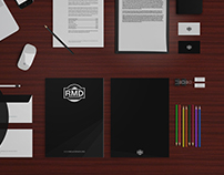 FREE | OFFICE BRANDING - STATIONERY MOCKUP