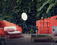 "Elle Decor ""Jungle & Colour"""