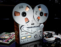 AKAI - REEL TO REEL Tape Deck