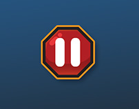 GUI design || Mobile game - Don't break Jake