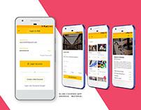 Design concept for INK app